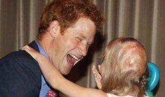 Erster öffentlicher Auftritt nach seinem Nacktskandal: Prinz Harry. (Foto)