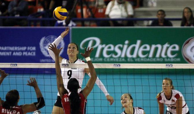 Erster Sieg für Volleyball-Frauen im Grand Prix (Foto)