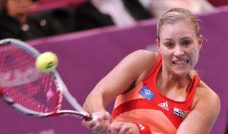Erster Turniersieg für Tennisspielerin Kerber (Foto)
