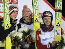 Erster Weltcupsieg für Skispringer Freund (Foto)
