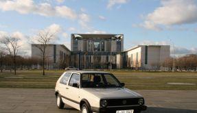 Erstes West-Auto der Kanzlerin in Auktion (Foto)