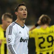 Erwartet schon wieder den BVB: Cristiano Ronaldo.
