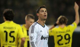 Erwartet schon wieder den BVB: Cristiano Ronaldo. (Foto)
