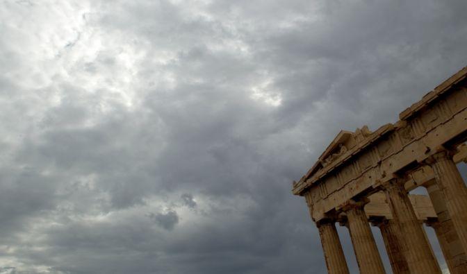 Es wird wieder finster rund um den Parthenon Tempel auf der Akropolis: Griechenland droht eine doppelter Grexit. (Foto)