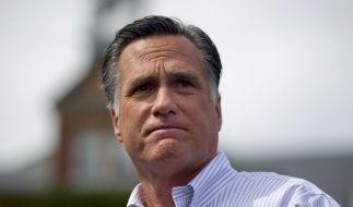 Es sah schon einmal besser aus für Mitt Romney. (Foto)