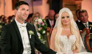 Es war die Traumhochzeit des Jahres: Millionen Fans verfolgten am 4. Juni 2016 die romantische Zeremonie zur Hochzeit von Daniela Katzenberger und Lucas Cordalis. (Foto)