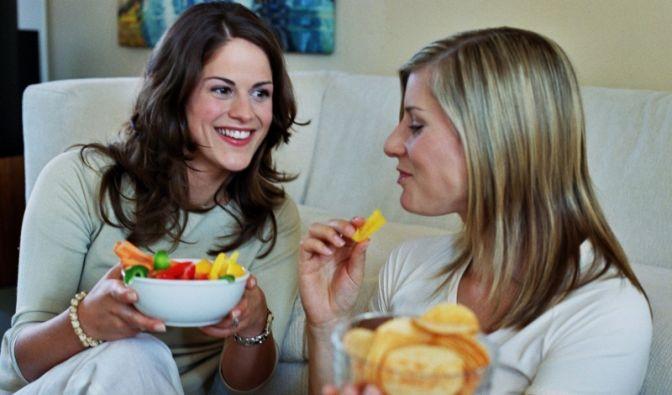Essen an sich macht glücklich (Foto)