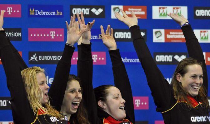 Etwa zwei Dutzend deutsche Beckenschwimmer bei Olympia (Foto)