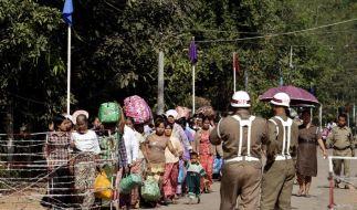 EU eröffnet Verbindungsbüro in Birma (Foto)