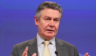 EU-Kommissar warnt vor «Endspiel» in Athen (Foto)