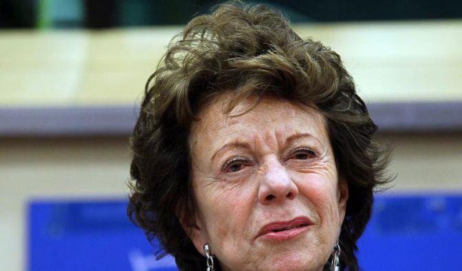 EU-Kommissarin Kroes erklärt Acta für erledigt (Foto)