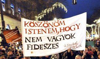 EU-Kommission geht wegen Verfassung gegen Ungarn vor (Foto)