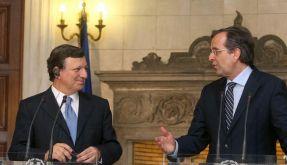 EU-Kommissionschef Barroso macht Griechen Mut (Foto)