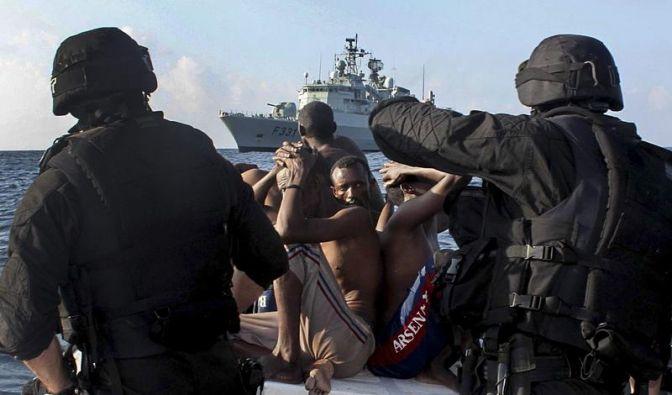 EU-Kräfte zerstören erstmals Piratenstellung in Somalia (Foto)