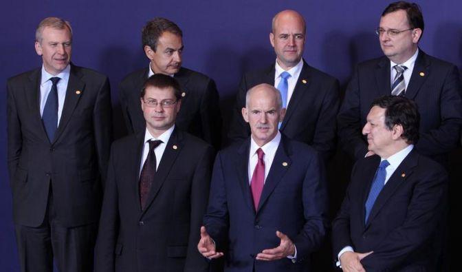 EU-Krisengipfel gibt Papandreou Rückendeckung (Foto)