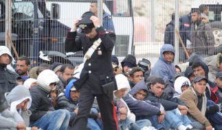 EU streitet über Verteilung afrikanischer Flüchtlinge (Foto)