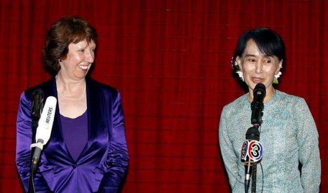 EU-Vertretung in Birma eröffnet (Foto)