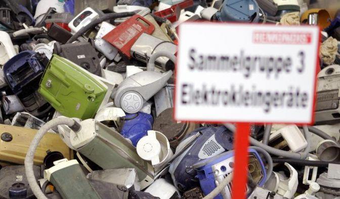 EU will mehr Elektroschrott sammeln (Foto)
