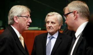 Euro-Finanzminister beraten über Griechenlandhilfe (Foto)