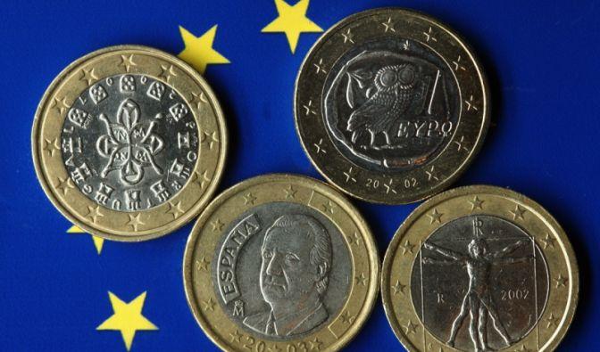 Euromünzen (Foto)