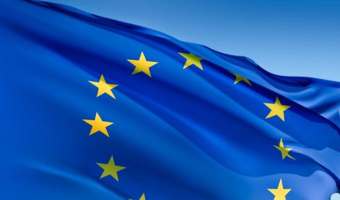 Europa Flagge (Foto)