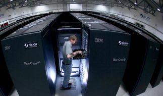 Europas schnellster Rechner geht in Betrieb. (Foto)