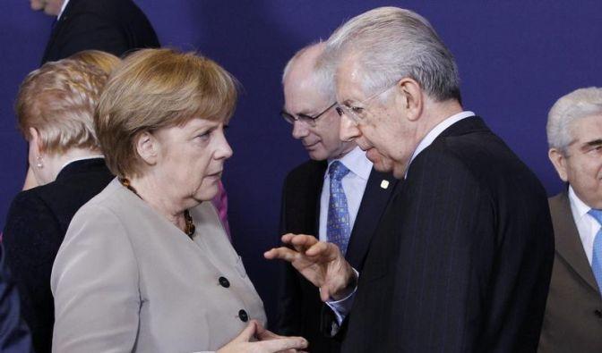 Eurozone steht Italien und Spanien bei (Foto)