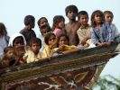 Evakuierte Kinder (Foto)