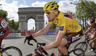 Evans gewinnt die Tour - Cavendish siegt in Paris (Foto)