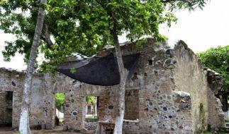 Experten restaurieren Cortes-Haus in Antigua (Foto)