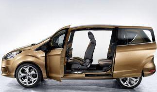Extrem breiter Einstieg: Fords neuer Van B-Max (Foto)