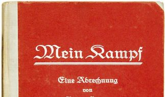 «Extrem mieses Buch»: Auszüge aus Hitlers «Mein Kampf» sollen am Kiosk erscheinen.  (Foto)