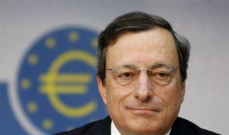 EZB-Präsident Mario Draghi macht keine Versprechen an die Krisenländer. (Foto)
