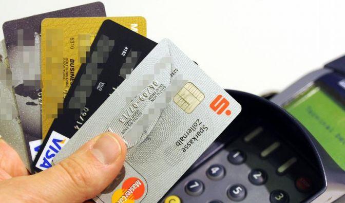 EZB: Weniger Betrug mit Kreditkarten (Foto)