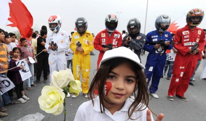 F1 in Bahrain: Gast in einem zerrissenen Land (Foto)