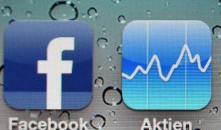 Facebook-Aktie bricht am zweiten Handelstag ein (Foto)