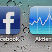 Facebook und Aktien - offenbar keine gute Mischung.