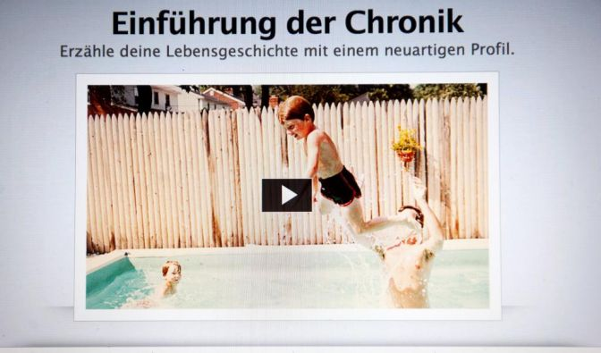 Facebook-Chronik (Foto)