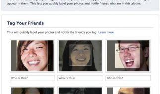 Facebook erlaubt Gesichtserkennung bei Fotos (Foto)