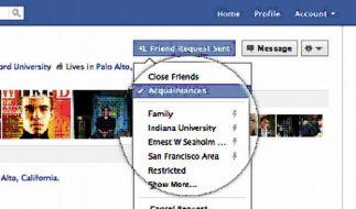 Facebook führt automatische Freundeslisten ein (Foto)
