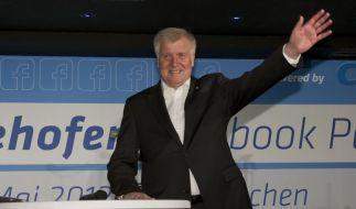 Facebook-Party des bayerischen Ministerpräsidenten Seehofer (Foto)