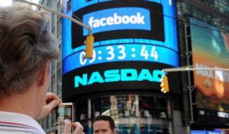 Facebook und die Börse. Bisher noch keine Erfolgsgeschichte. (Foto)