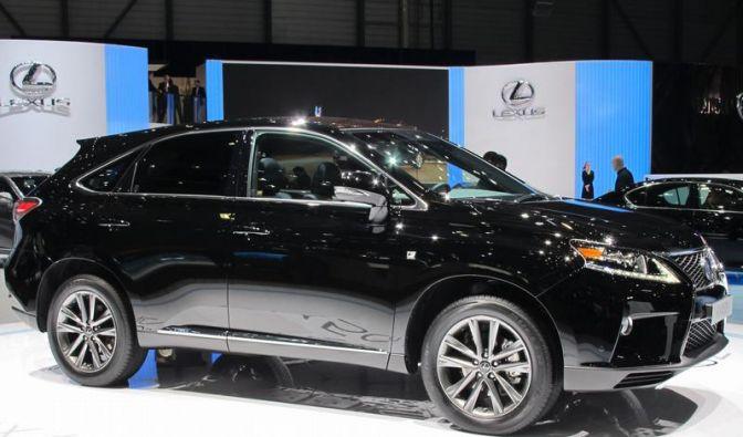 Facelift für Lexus RX-Baureihe (Foto)