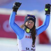 Skirennfahrerin Dürr mit gutem 8. Platz in der Alpinen Kombination- 3 Stürze beim Super G (Foto)