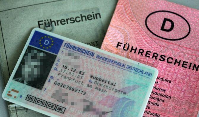 Fahrerlaubnis (Foto)