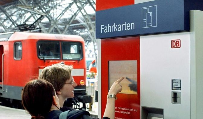 Fahrkartenautomat (Foto)
