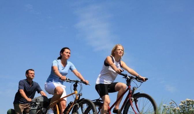 Fahrradurlaub auf der neuen«Velodyssey»-Route von Südwestengland nach Westfrankreich ist besonders für Familien und Hobbyradler geeignet. (Foto)