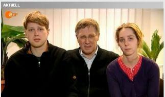 Familie der entführten Bankiersfrau (Foto)