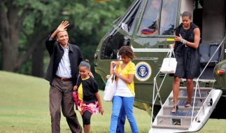 Familie Obama (Foto)