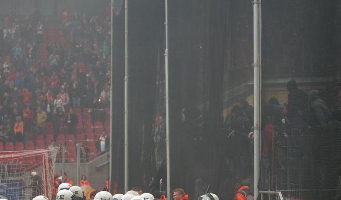 Fan-Randale: Ermittlungsverfahren gegen 1. FC Köln (Foto)